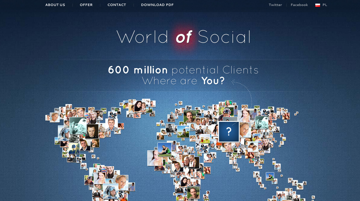 Http Bestwebgallery Com 2011 11 08 World Of Social