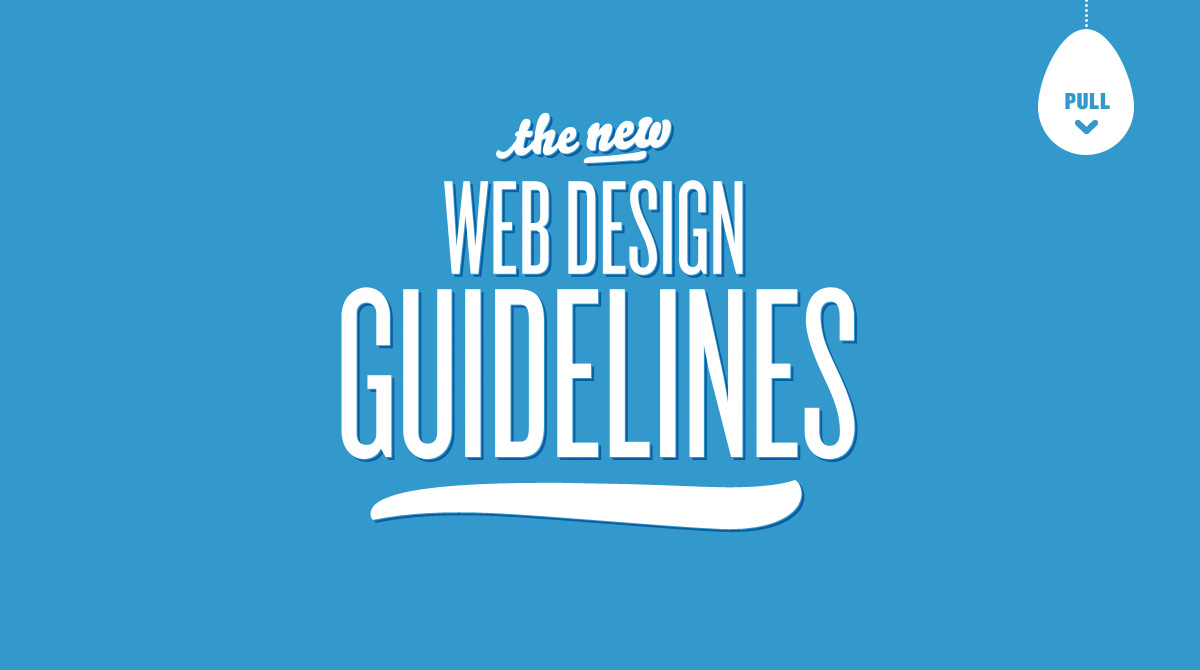 The New Web Design Guidelines