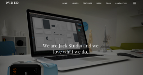 Wired WordPress Theme