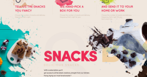 Unibble Healthy Snacks Concept